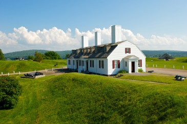 Fort Anne National Historic Site in the town of Annapolis Royal